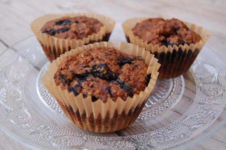 Healthy havermout muffins