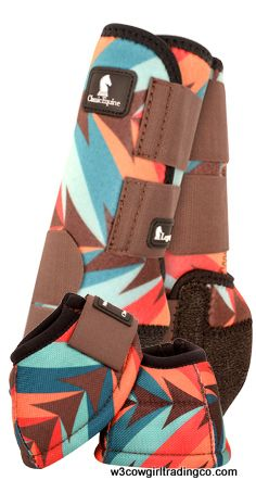 Classic Equine Chocolate/ Teal Twist Legacy - W3 Cowgirl Trading Co.