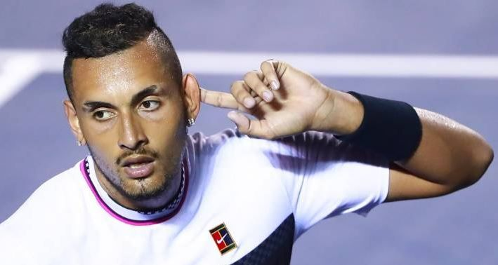 Nick Kyrgios Wins Acapulco Open Title In Mexico Rafael Nadal Roger Federer Tennis World