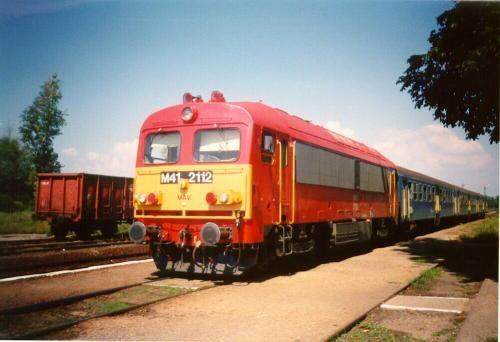 Ganz mozdony M41.2112 Csörgő