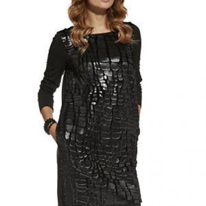 vestido-cuero-estampado