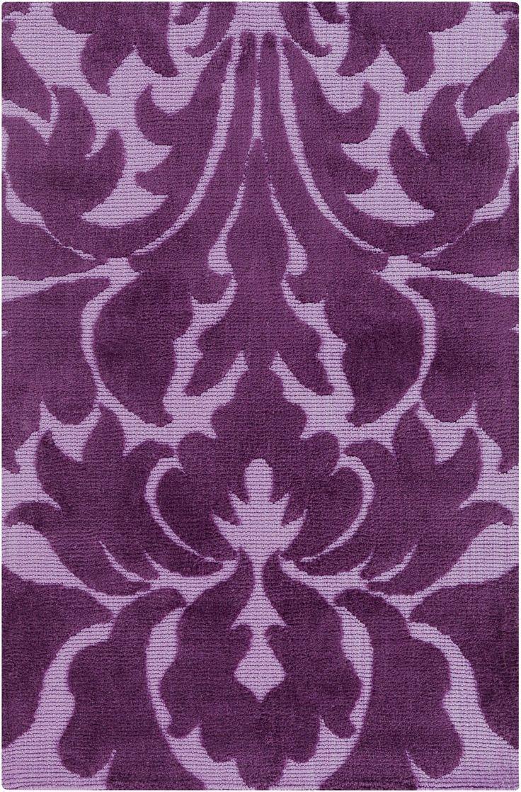 Abigail Purple Area Rug