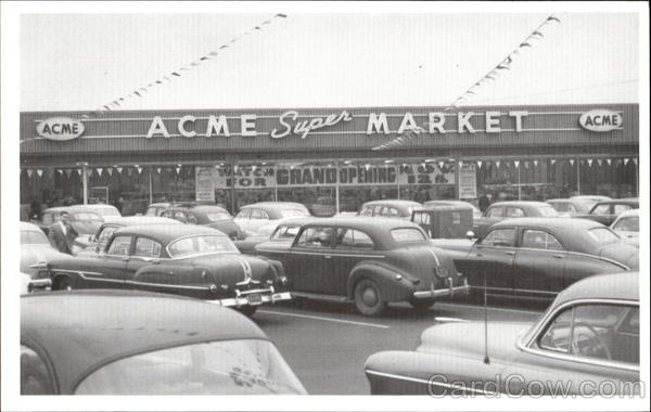 Ancient ACME store