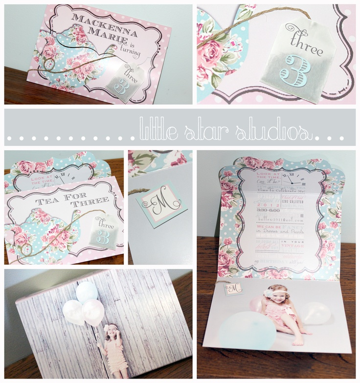 98 best Tea for Two images on Pinterest | Party invitation templates ...