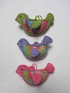 Crochet Bird Tutorial ~ free pattern ᛡ
