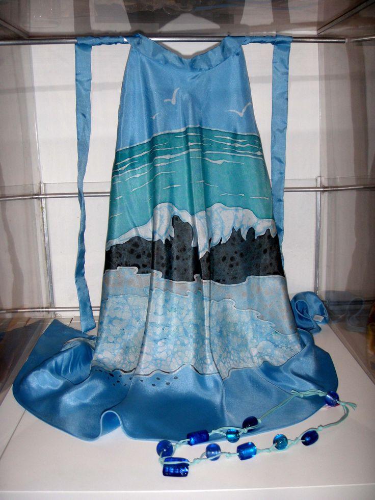 top onda - batik su seta
