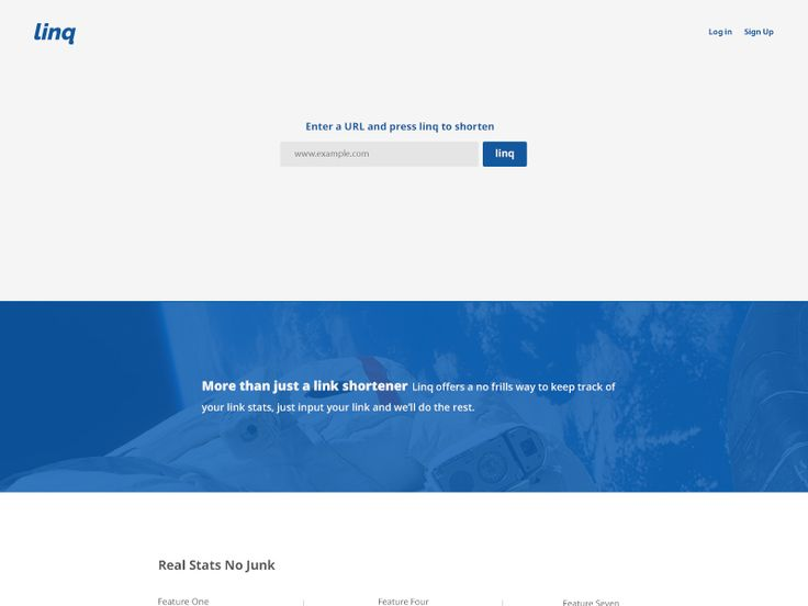 Linq Shortener Page