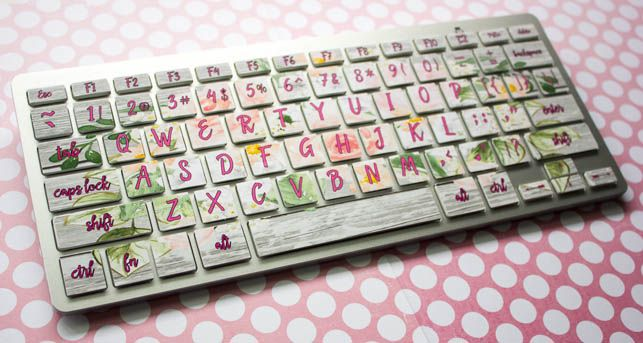 Diy Keyboard Decals Silhouette Keyboard Stickers