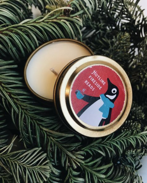 Enter to win the Penguin Hotline box filled with books, Penguin Hotline swag, this fantastic candle from The Melting Library, and more! http://bit.ly/2gF1wHv
