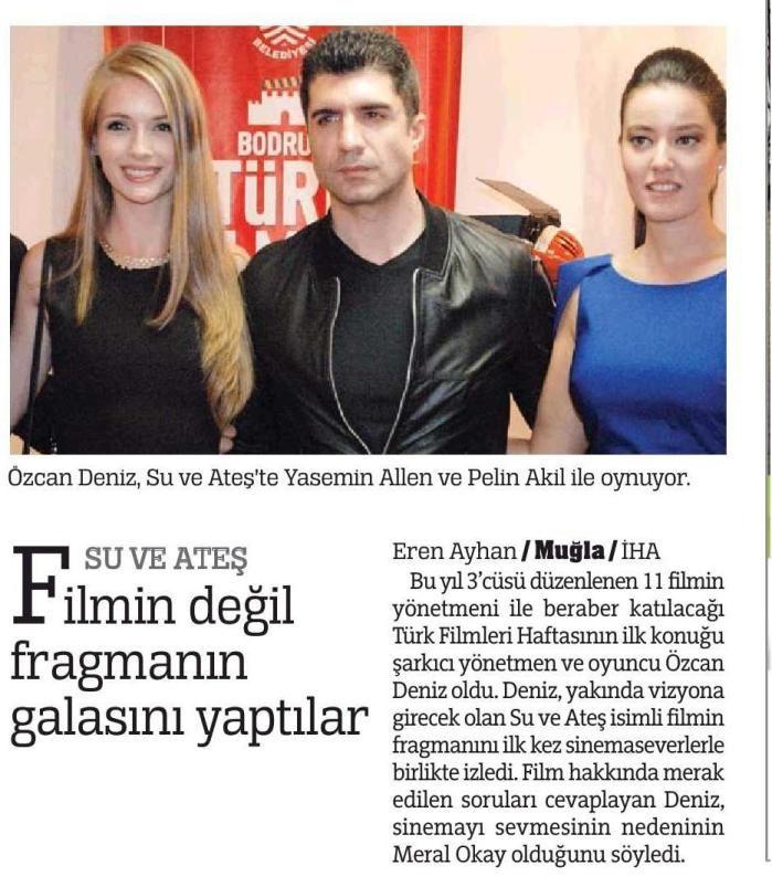 Su ve Ateş Filmi | Basın - Press http://facebook.com/suveatesfilm
