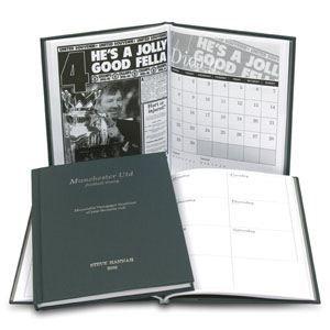 Personalised Football Diary Aston Villa