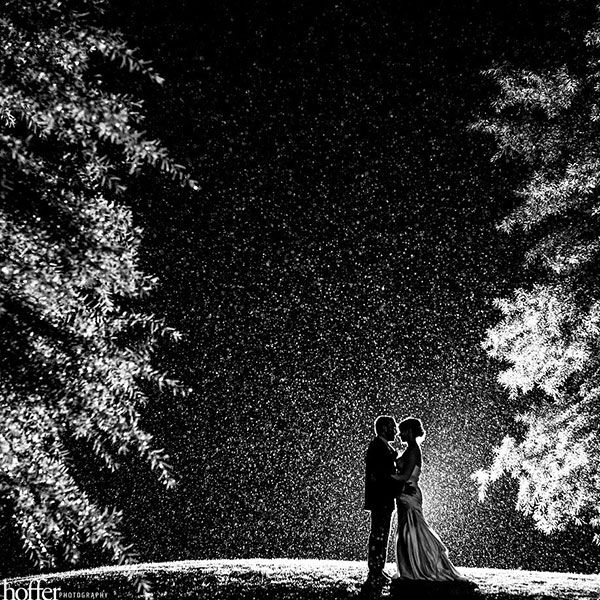 Beautiful rainy wedding day photo www.finditforweddings.com