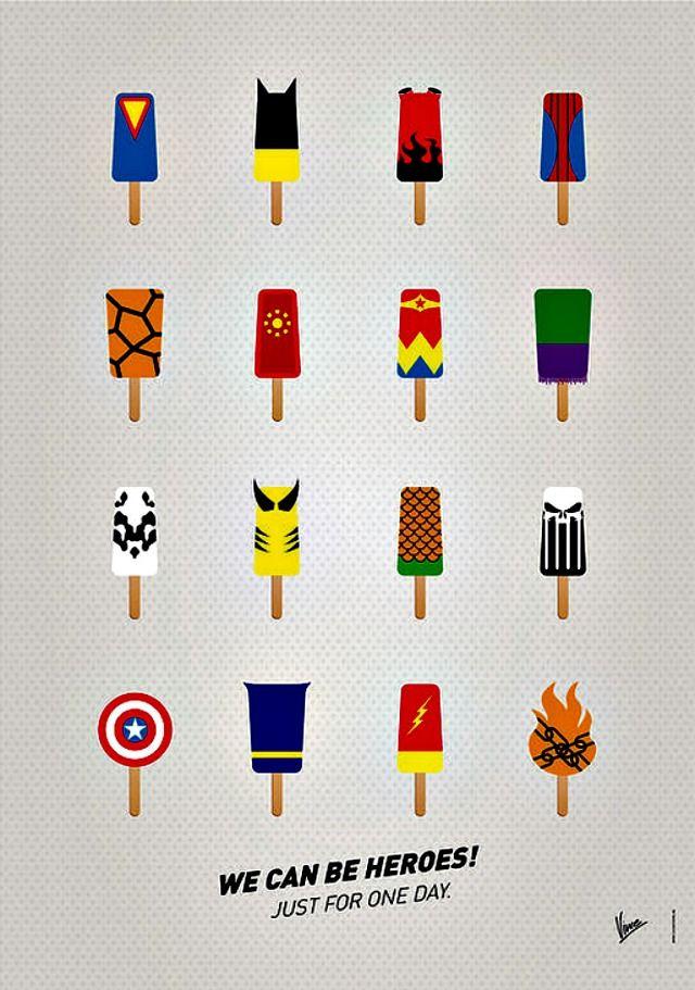 Kitchen Corners: Superhero Popsicles