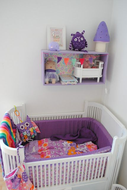 Purple Nursery, Kids room