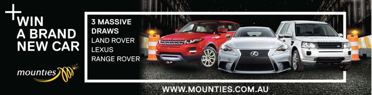 Did anyone get down to Mounties Club when they were giving you the chance to win a brand new car?