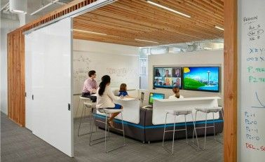 Collaborative workspace design examples google search Collaborative workspace design