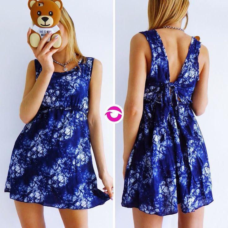 NEWWW VESTIDO BATIK NUDO $500 Fibrana azul oscuro batik nudo en la espalda elástico en el pecho (corte princesa). El vestido es una de las opciones mas cómodas frescas y femeninas para el verano. Local Belgrano Envíos Efectivo y tarjetas Tienda Online www.oyuelito.com.ar #followme #oyuelitostore #stylish #styles #fashion #model #fashionista #fashionpost #ootd #moda #clothing #instafashion #trendy #chic #girl #trends #outfitoftheday #selfie #showroom #loveit #look #lookbook…