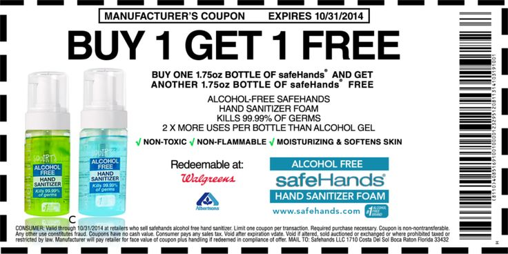 Safehands Alcohol Free Hand Sanitizer Review Giveaway Hand