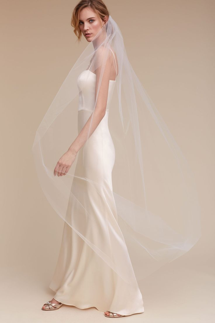 Low Back Wedding Dress With Veil : Images about debra moreland for bhldn on