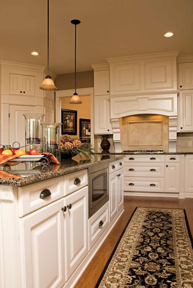 Charming Painted Kitchen Cabinets