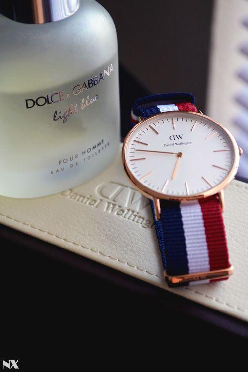 ღღ Today's Essentials: Dolce & Gabbana Light Blue and Daniel Wellington