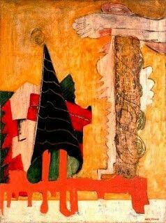 Rothko.  Sacrificio di Ifigenia. 1942