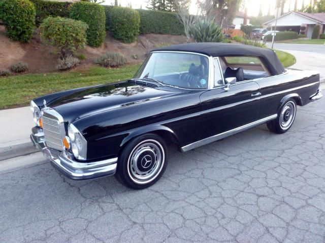 1971 Mercedes-Benz 280SE Cabriolet Maintenance of old vehicles: the material for new cogs/casters/gears/pads could be cast polyamide which I (Cast polyamide) can produce