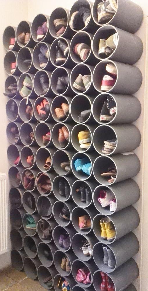32 brillante Schuhe Rack Design-Ideen – Diydekoideen #brillante #design #diydekoideen #ideen #schuhe