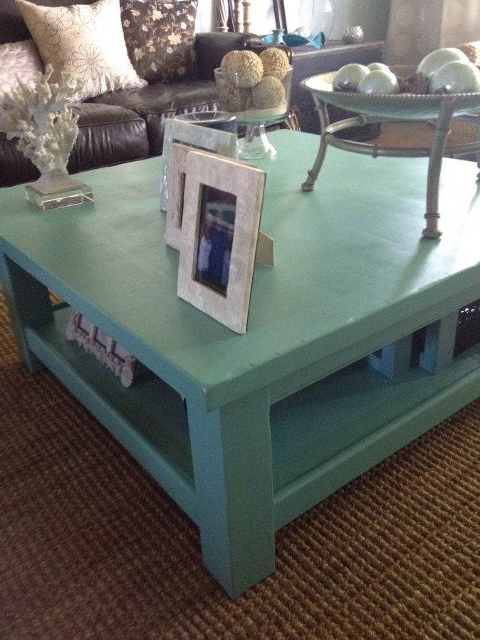 Tiffany Blue Coffee Table » House of Rumours