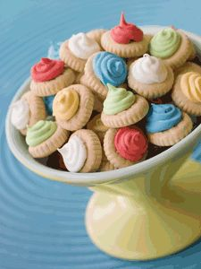 Iced Gem biscuits - my nan used to buy me a packet of these and a comic every week!