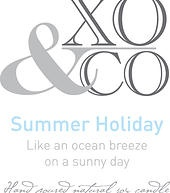 XO and Co. Soy candles and wedding bonboniere | Summer Holiday