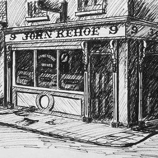 ...how many Guinness would i get for this? #thirstywork #art #sketch #johnkehoes #southannestreet #dublin #alanhogan #visitdublin #ireland #dublinpubs #pub #wateringhole #bar #goodbar #drawing #illustration #blackandwhite #instaart #instaartist #architecture #guinness #johnkehoespub #pubsofdublin #instapub #hoganfinland #irishpub #ink #irishhistory #buildings #beerhouse #lovindublin