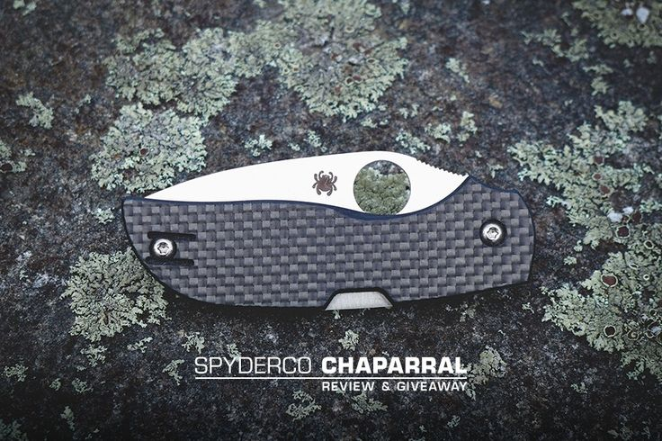 "Spyderco Chaparral Review & Giveaway For many of us, small pocket knives make up a core part of our EDC. However, since the advent of ""t..."