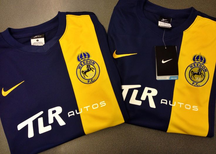 This pin features the nike striker iii game jersey in a