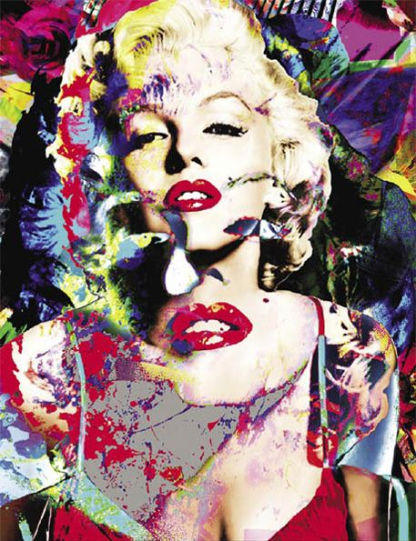 Marilyn Monroe Art Prints | Marilyn Monroe Art Prints by James Gill - Lanning Art Gallery [Sedona]