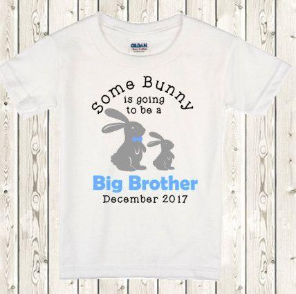 Big brother Easter Shirt Easter Pregnancy Announcement idea big brother Easter announcement ONESIE ® brand bodysuit or shirt for big brother