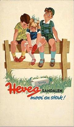 Kinderschoenen reclame