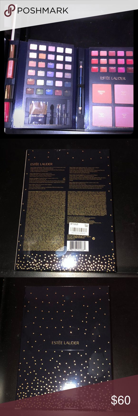 🆕Limited Edition Estée Lauder Makeup Set 30 Eyeshadows, 3 Blushes, 1 Bronzer, 2 Deluxe Lip Glosses, 15 Lipstick Pans, 1 Eyeliner Duo, and Mini Makeup Brush Set New and Unused. All Offers Will Be Considered. No Trades. A Random Makeup Sample Will Be Included with Every Package! The Bigger the Bundle the Better the Sample! Loyalty Buyers Will Receive a Free Gift on the Third Transaction! Estee Lauder Makeup