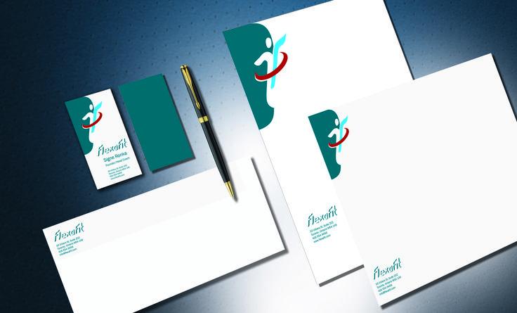 Flexafit Stationery Design Concept