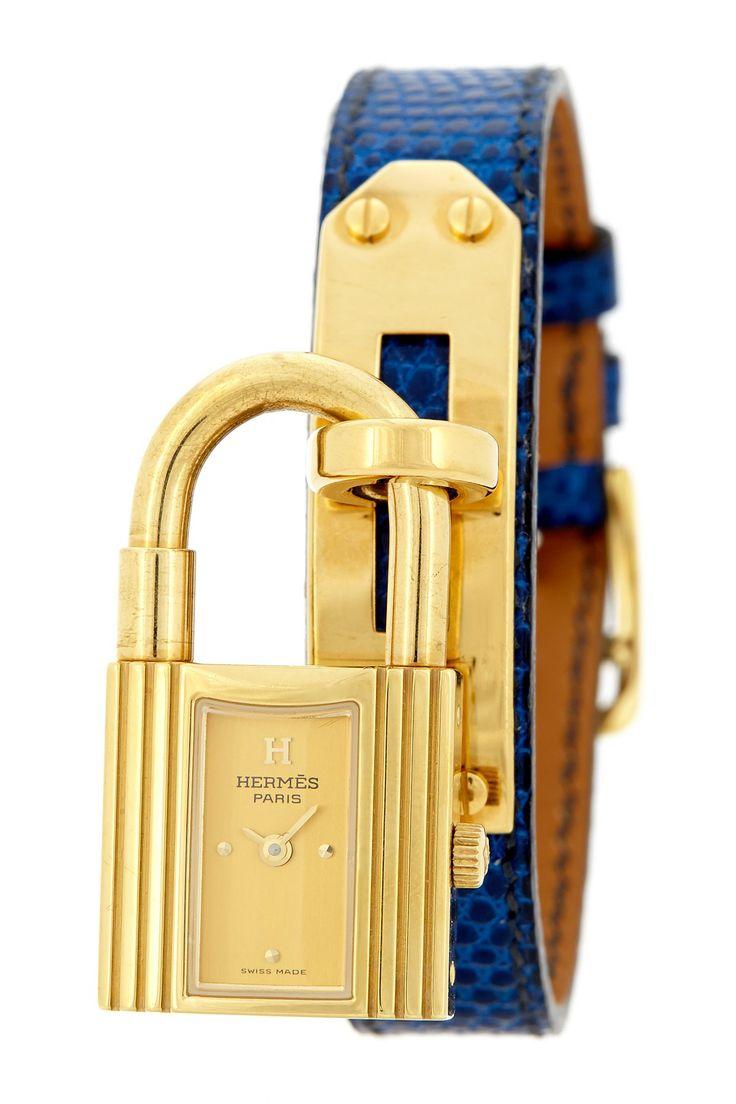 Hermes Women\u0026#39;s Kelly Gold Vermeil Watch | IN MY BOUTIQUE ...