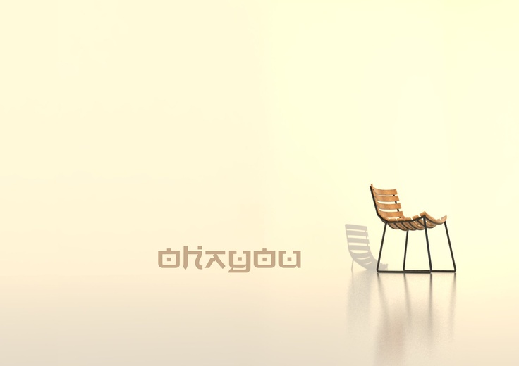 ohayou chair by brigitta heni