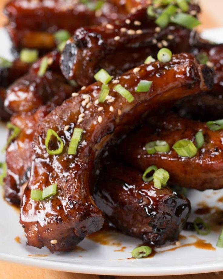 Diese unglaublich krossen Honig-Rippchen mit BBQ-Sauce sind einfach das Perfekteste, was du jemals sehen wirst