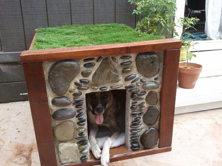 Homemade Dog House My Art rubixtoons Pinterest