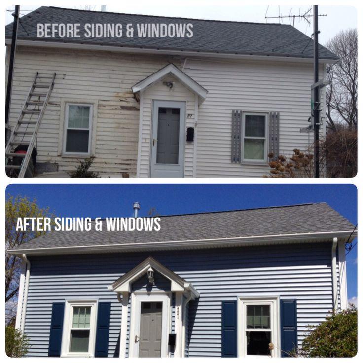 superior harvey siding colors #1: Transformation using @Harvey Building Products Harvey BP Classic Windows  and @CertainTeed Corporation Monogram Siding