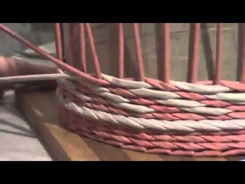 ▬► Плетение узора 'верёвочка с объемом - YouTube
