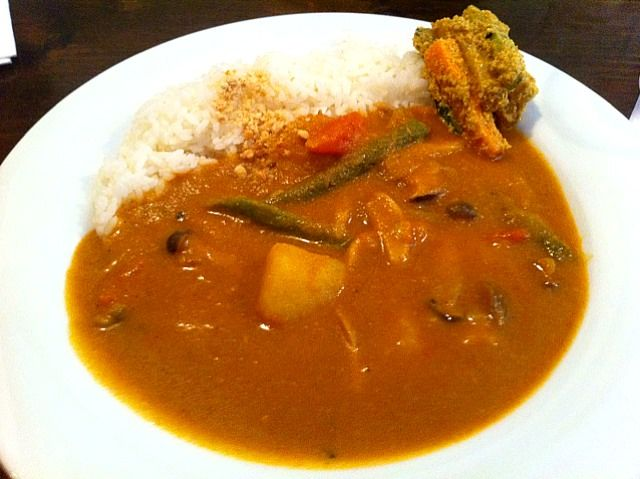 Nepal vegetable curry
