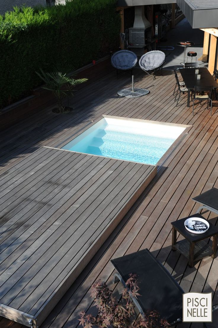 14 best reportage photo une piscine et sa terrasse mobile images on pinterest decks. Black Bedroom Furniture Sets. Home Design Ideas
