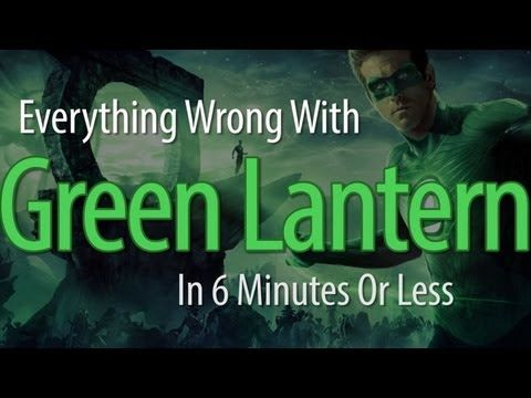 Everything Wrong With Green Lantern In 6 Minutes Or Less  Good primer for what to get right in rebooting the Green Lantern franchise with Jon Stewart.