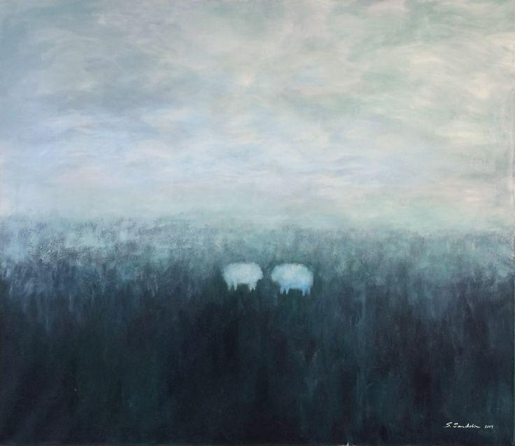120x100 / acryl and oil on canvas / 2004 / 2,5