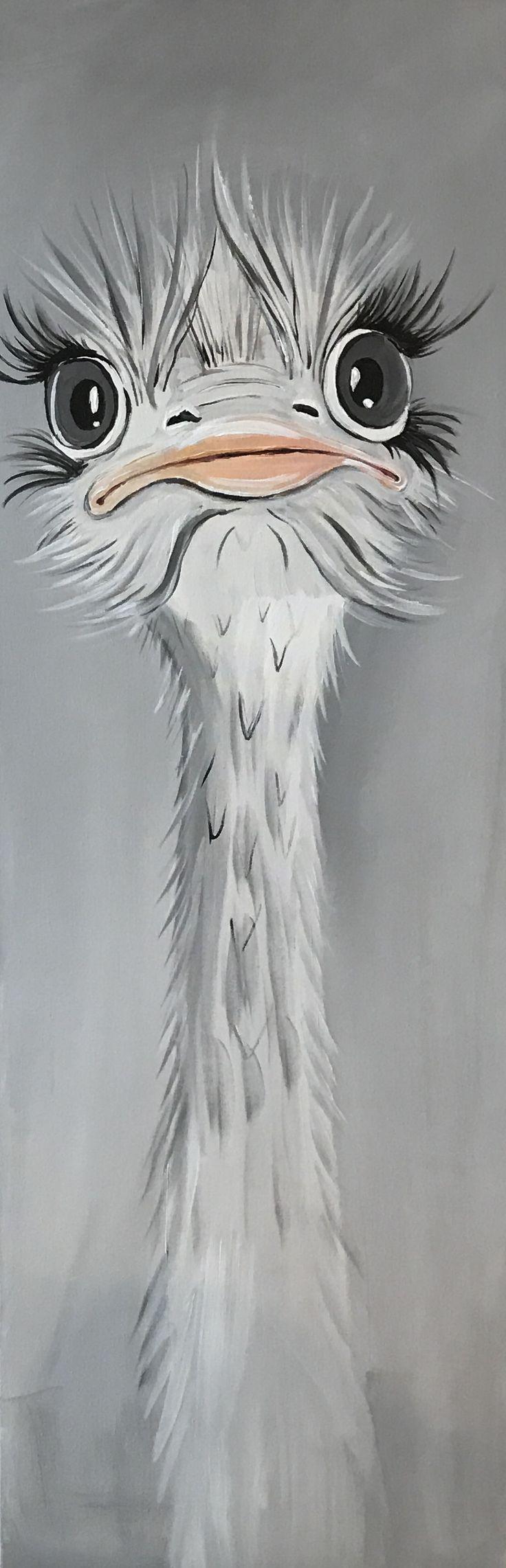 Schneestrauss grau weiss lachs, Acryl, 80 x 120, 690 Euro
